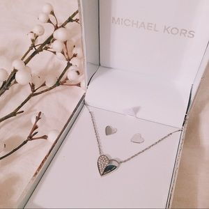 Michael Kors Necklace/Earrings Set